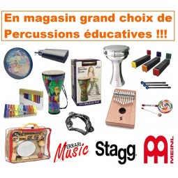PERCUSSIONS EDUCATIVES (F1)