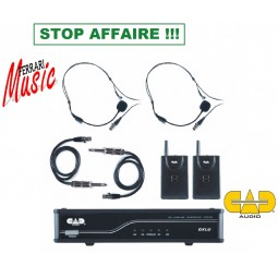 SYSTEME HF DOUBLE CAD AUDIO...